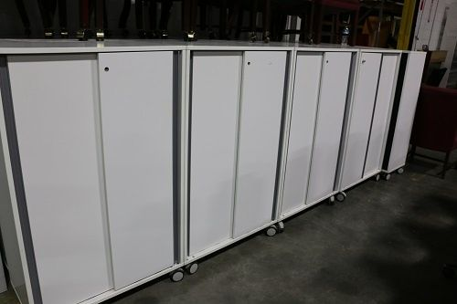 white-storage-cabinets-on-casters   White storage cabinets ...