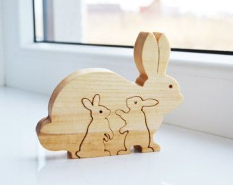 Kids gift wood bear wooden puzzle bear educational toys montessori kids gift wood bear wooden puzzle bear educational toys montessori toys mothers day gift animal puzzle bears family new mom gift negle Gallery