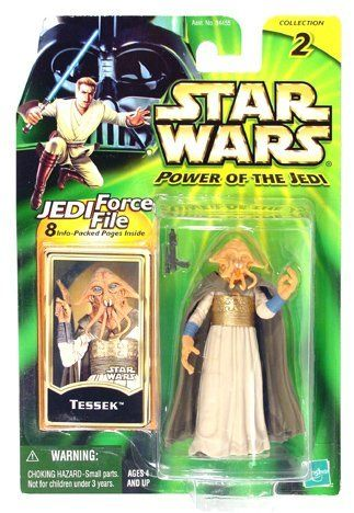 Star Wars Power of the Jedi Tessek Action Figure by Hasbro. $6.89. Star Wars. Tessek. Trilogy Collection. Star Wars Action Figure. Boba Fett. out of production figure