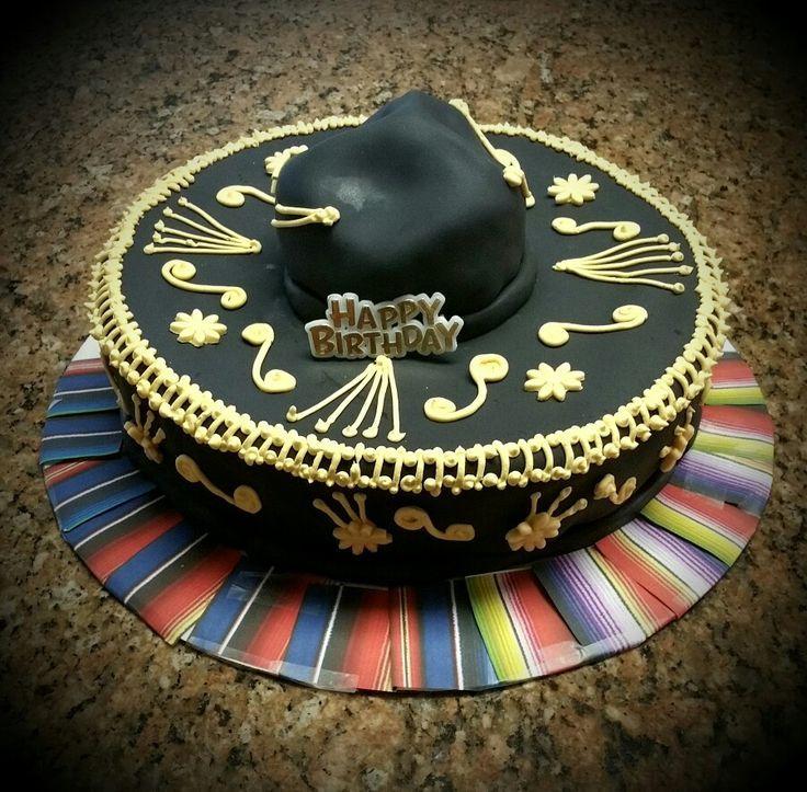 0a28ea69877c9 Resultado de imagen para pastel de sombrero y mariachis