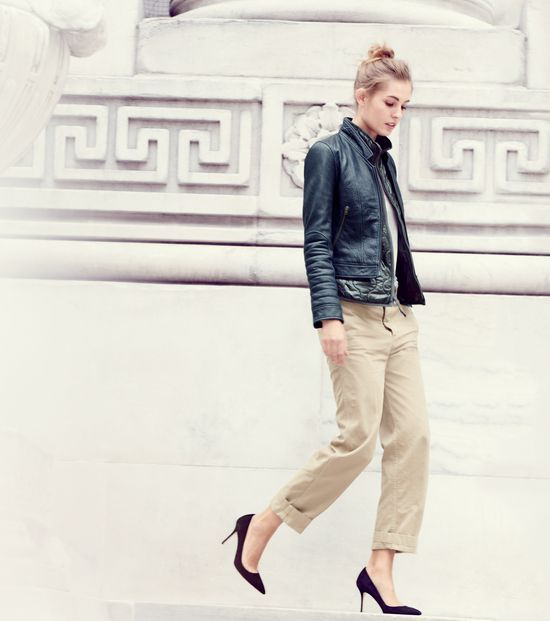 273611cd7 I. Want. This. Jacket. -J.Crew women's Collection standing-collar ...