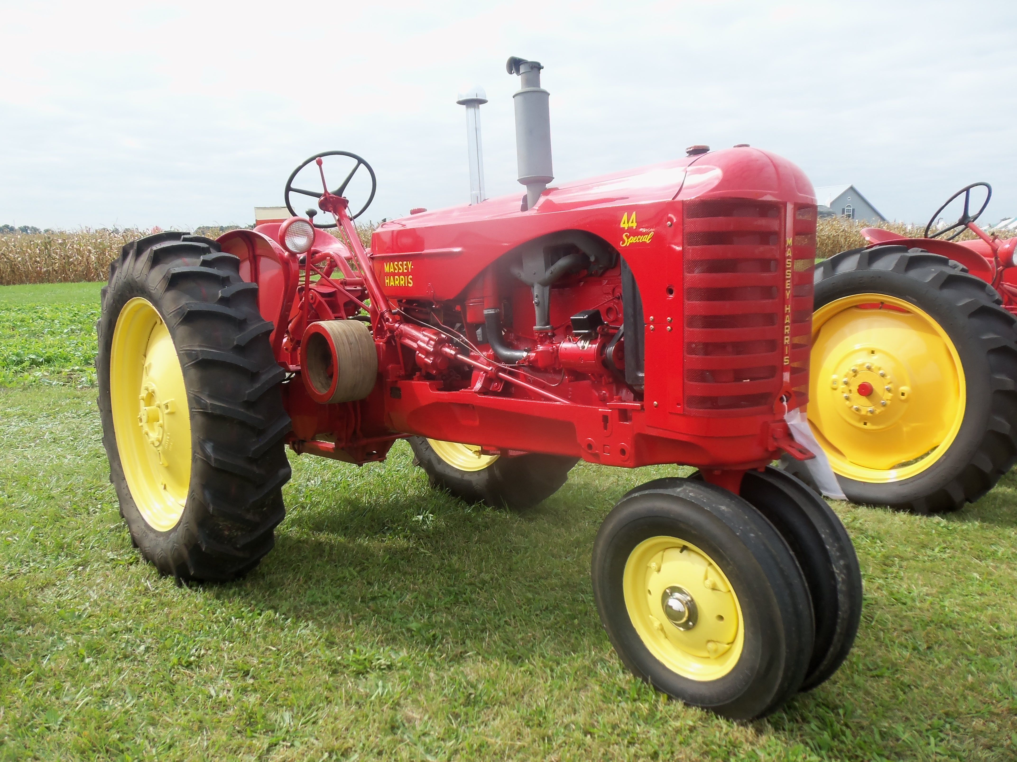 Massey Harris 44 SPECIAL Antique Tractors, Old Tractors, Old Farm  Equipment, Tractor Pulling