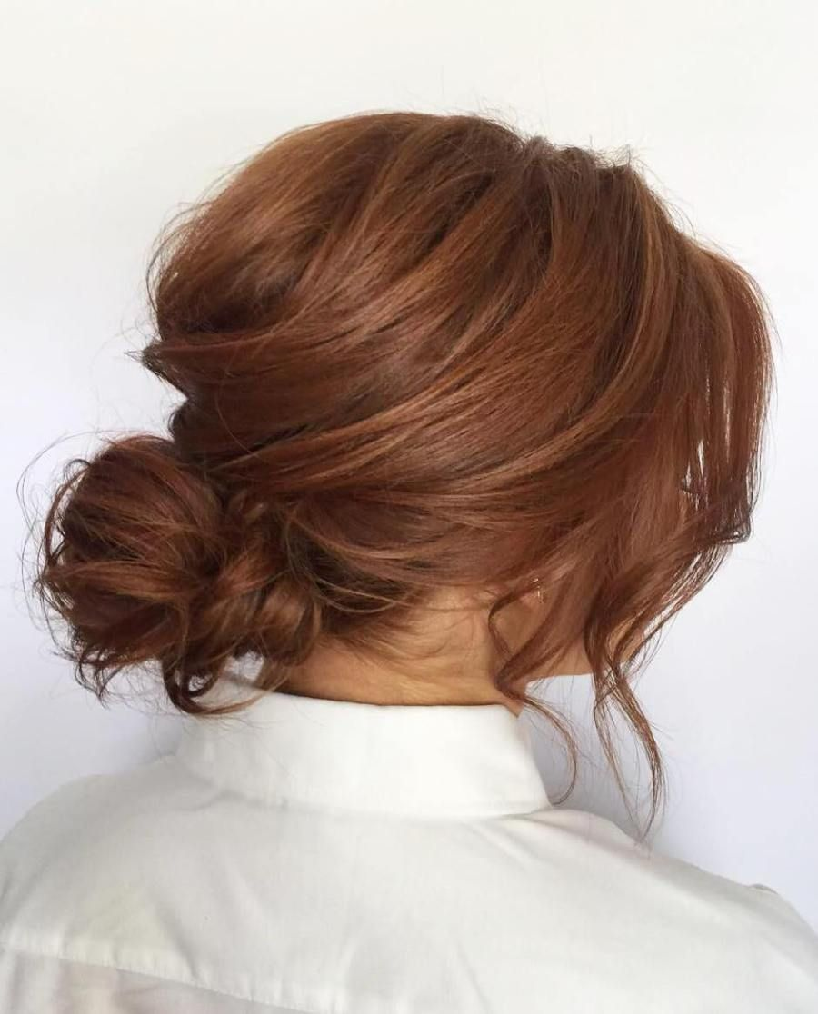 updos for thin hair that score maximum style point easy messy