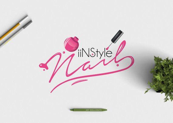 nail polish logo photography logo premade logo pre made