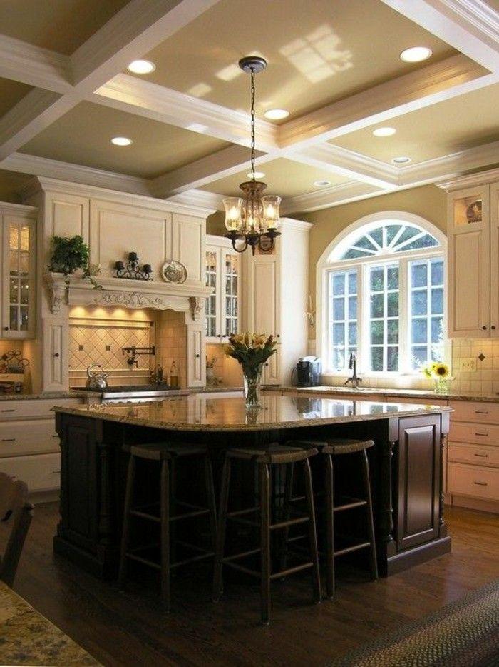marmor arbeitsplatte decken design Moderne Küchen Pinterest - k chentisch aus arbeitsplatte