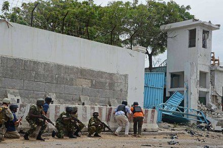 After My U.N. Office Was Attacked Our Somali Colleagues Went Back to Work the Next Day by DEWAINE FARRIA