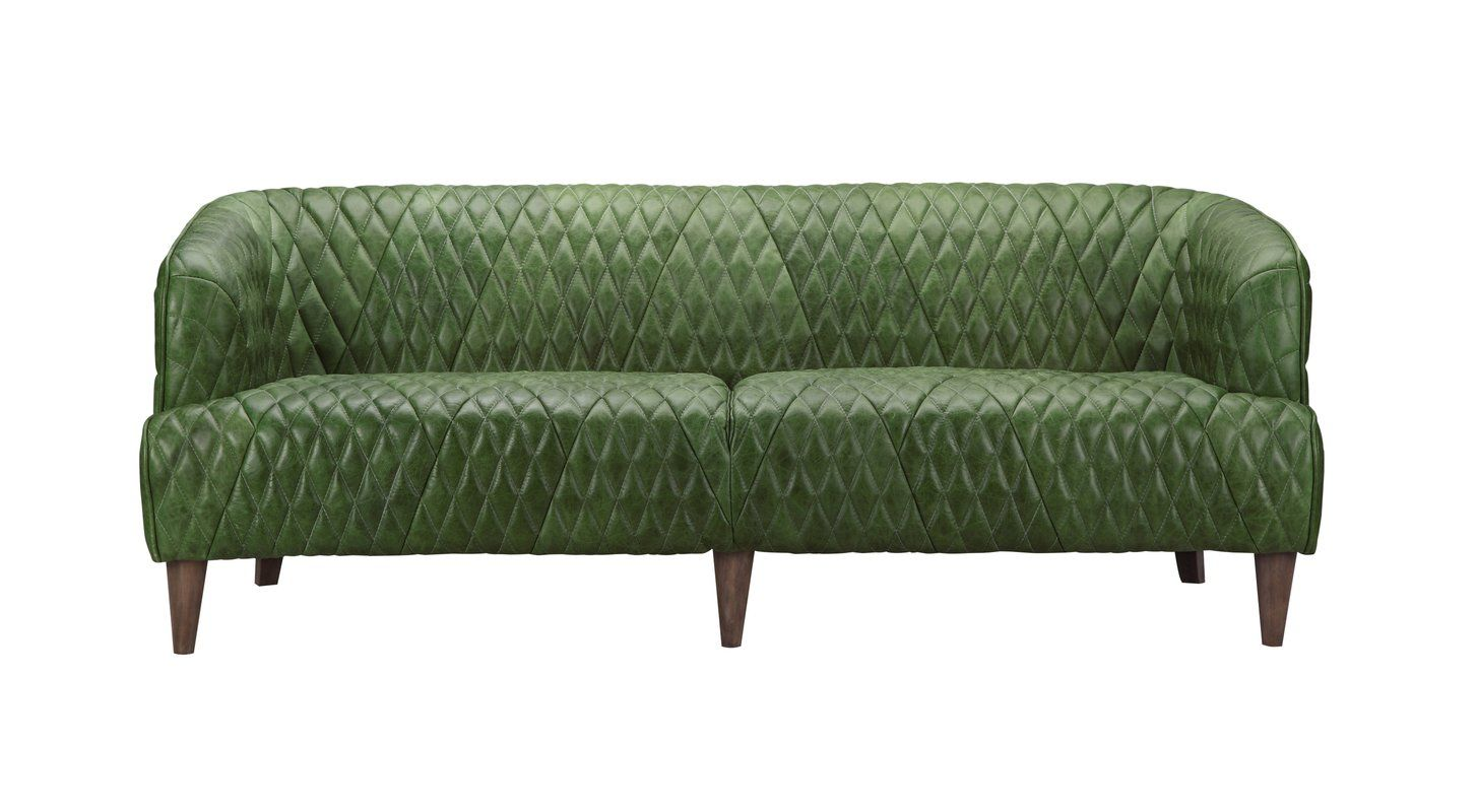 Online Shopping Top Rated Amot Leather Sofa By Trent