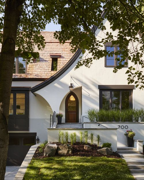 Modern Residential House Bungalow Exterior By Ar: Tudor Houses And Interiors