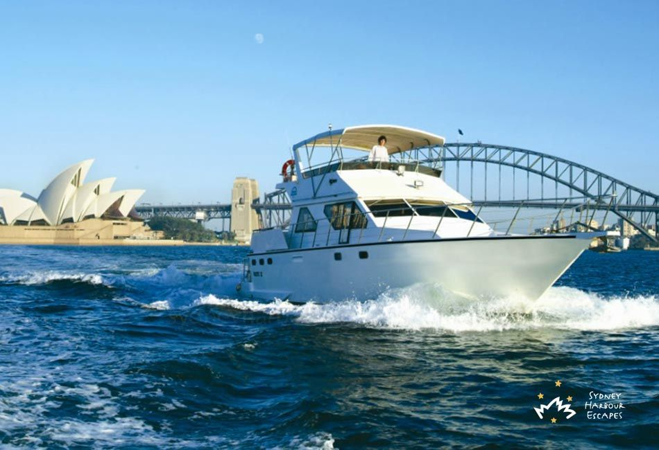Calypso boat hire private party boat charter sydney