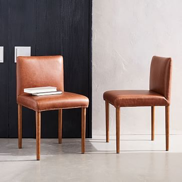 faux leather dining chairs empty fishing chair ellis westelm home decor diy