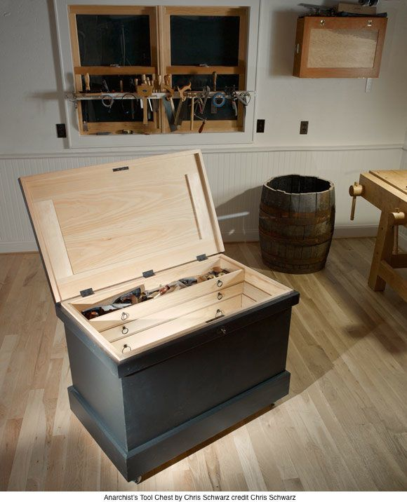 The New Anarchists Get Woodworking Tool Chest Woodworking Wood Tool Chest