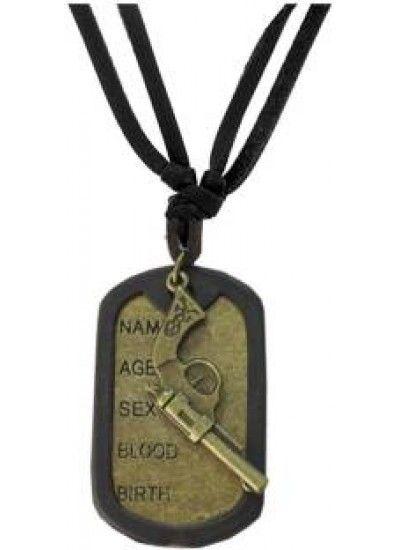 Blackbronze name tag with gun fashion fashion pendant gun pendant blackbronze name tag with gun fashion fashion pendant gun pendant silver gold aloadofball Image collections
