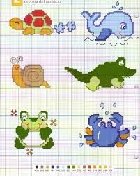 risultati immagini per piccoli disegni a punto croce per bambini