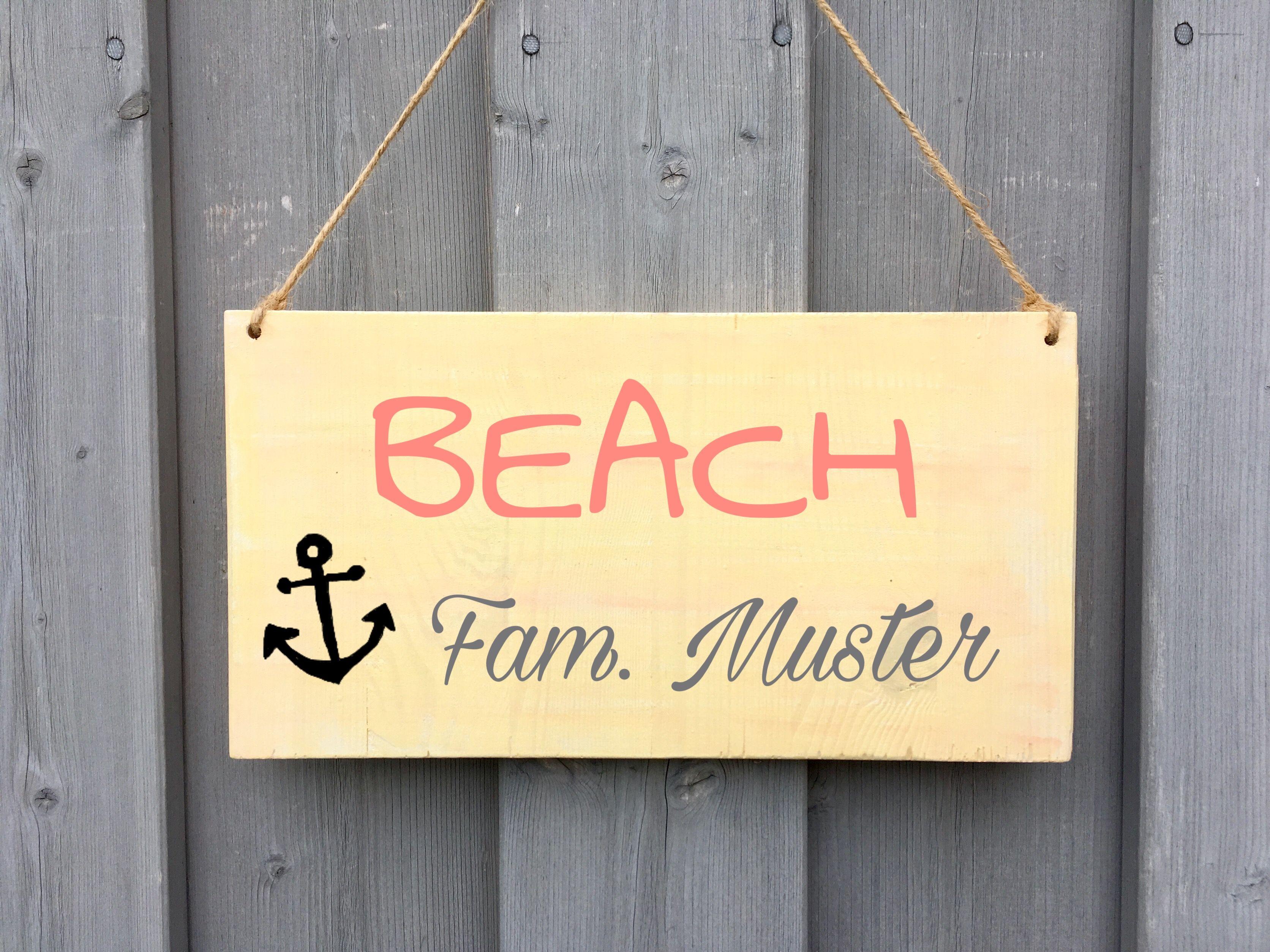 Holzschild Turschild Wooden Schild Shabby Beachhouse Strandhaus Schild Maritim Holzschild Anker Ho Mit Bildern Gartenschilder Personalisierte Schilder Holzschilder
