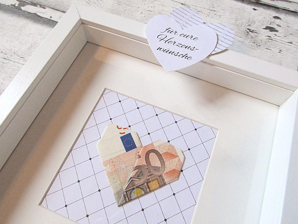 Geldgeschenke zur Hochzeit verpacken –