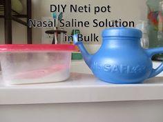 Diy Neti Pot Solution In Bulk Diy Neti Pot Nasal Saline Solution In Bulk 6 Tbsp 2 Tsp Non Iodized S Neti Pot Solution Neti Pot Essential Oils For Headaches