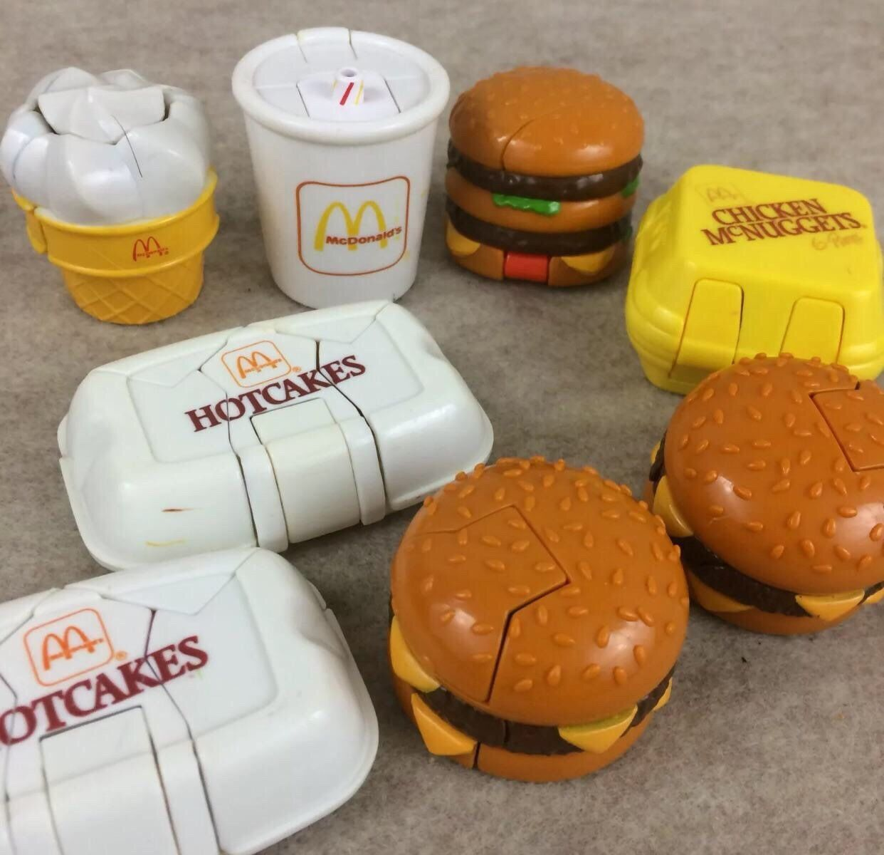 Vintage early 90s McDonald's toys Happy meal toys, Happy