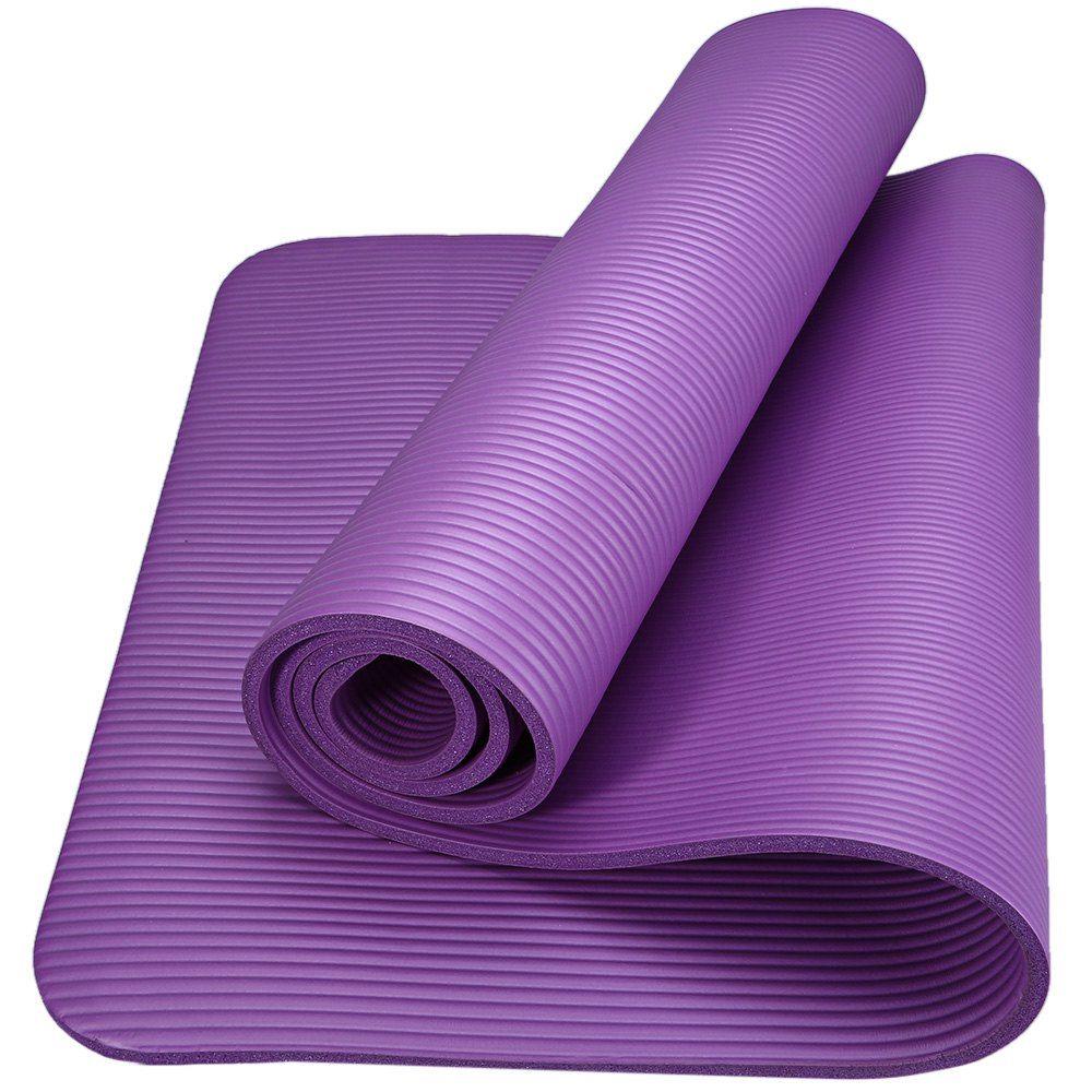 6 צבעים 183x61x1 ס מ מזרן יוגה Nbr 10 מ מ נגד החלקה Nonslip מזרן יוגה חדר כושר כושר מחצלת פילטוס יוגה Eva רב תכל Yoga Mat Diy Yoga Yoga Positions For Beginners