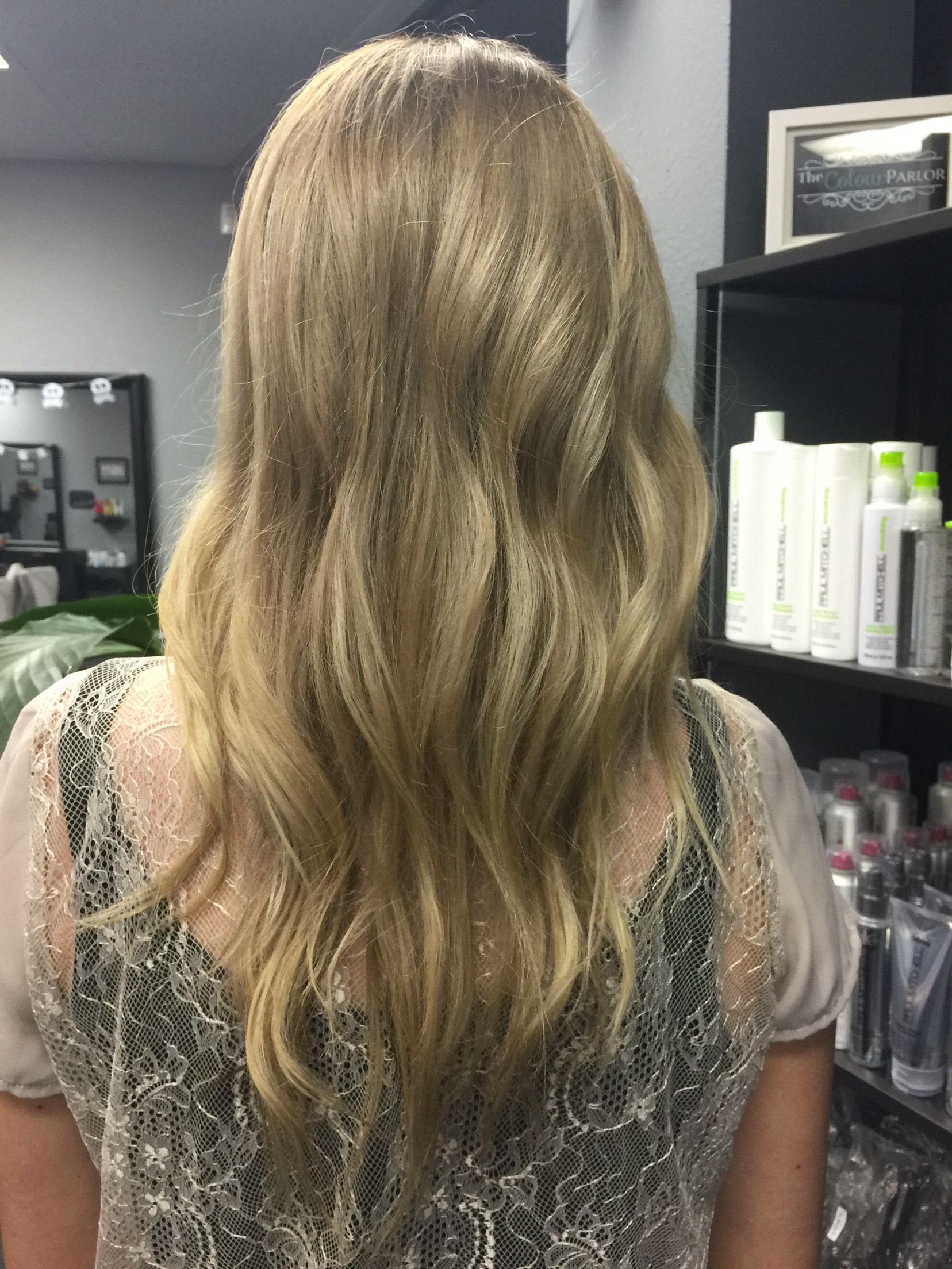Root Shadow Level 6n Shot Of 7nn 5 Vol Paul Mitchell The Color Xg Blended 8pn 9pn Mid Shaft