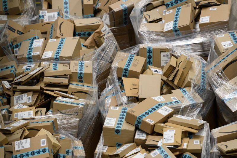 Amazons latest program to curb emissions one delivery day