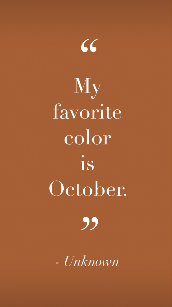 Habitually Chic® » October Inspiration 2018 #autumnleavesfalling