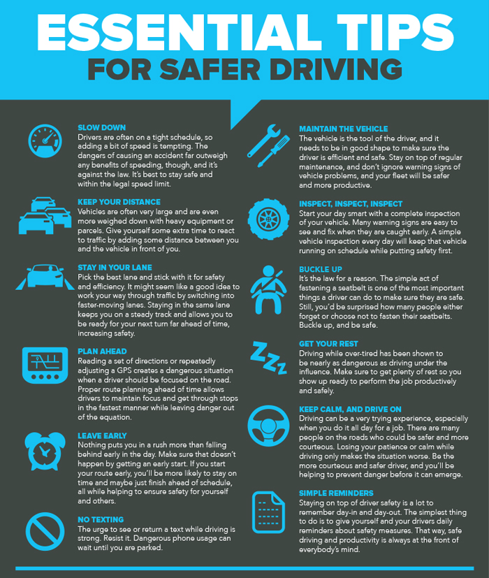 Stay Safe While On The Road By Following This Safe Driving Tips
