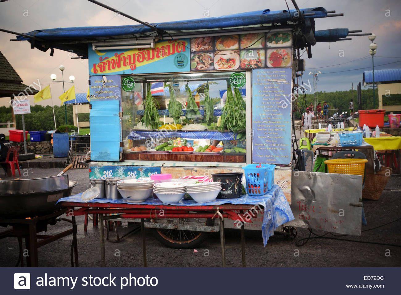 Design Asian Food Stall Ideas