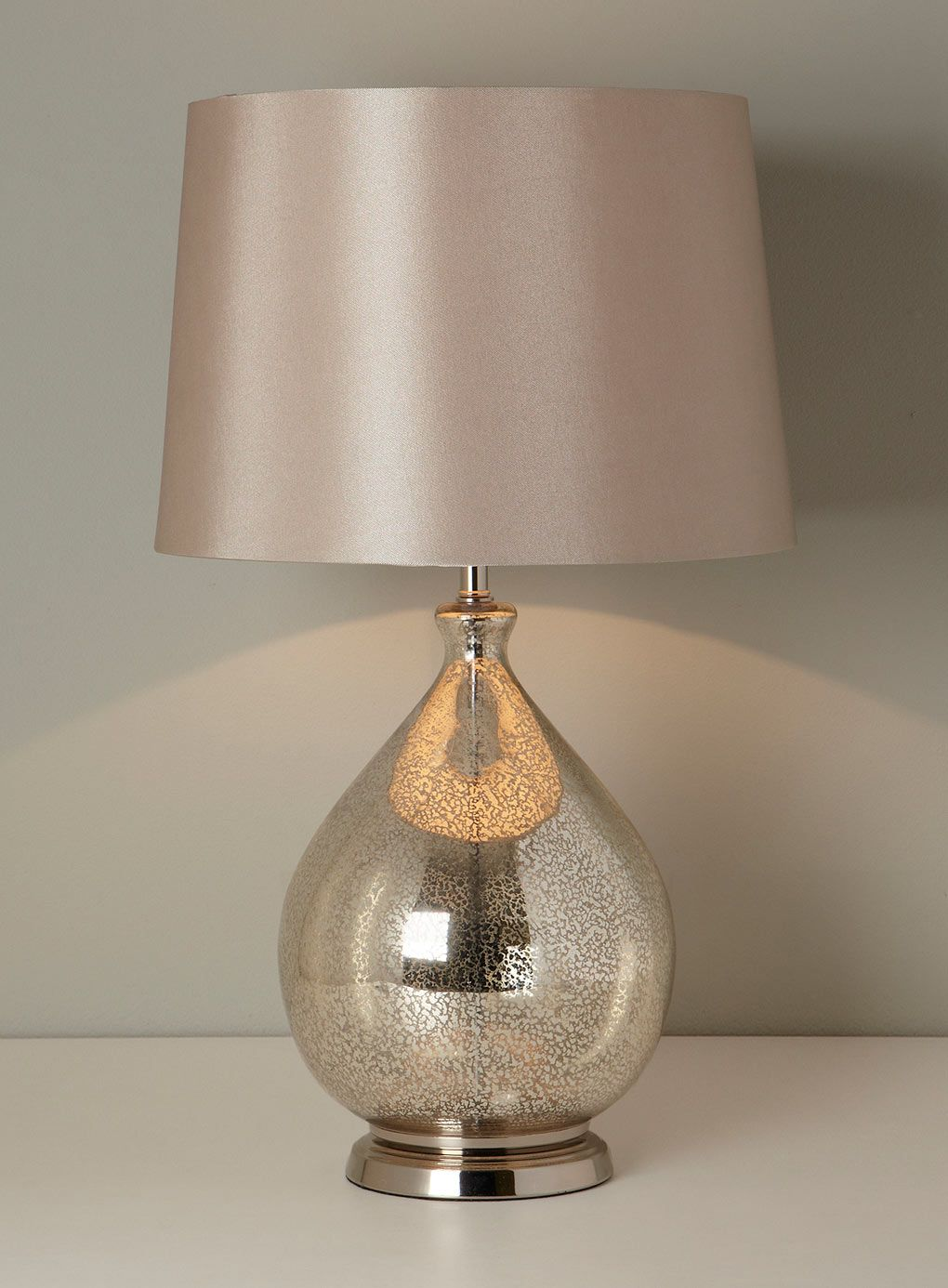 Gold Chloe Table Lamp   BHS