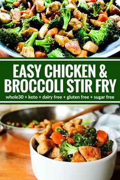Easy Chicken & Broccoli Stir Fry images