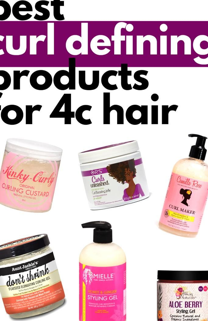 Best Curl Defining Products For 4c Hair In 2020 4c Hairstyles Natural Hair Styles Defined Curls