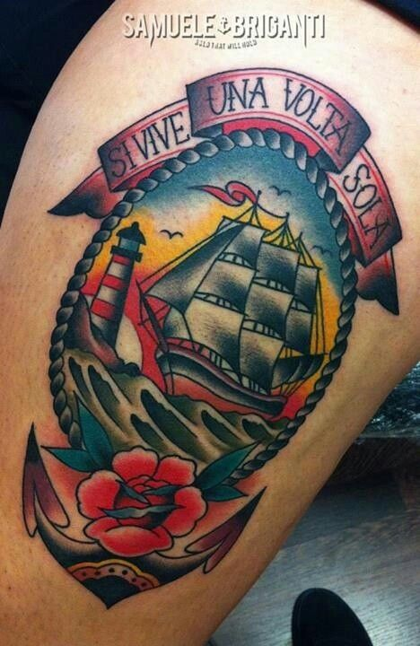Cool traditional tattoo