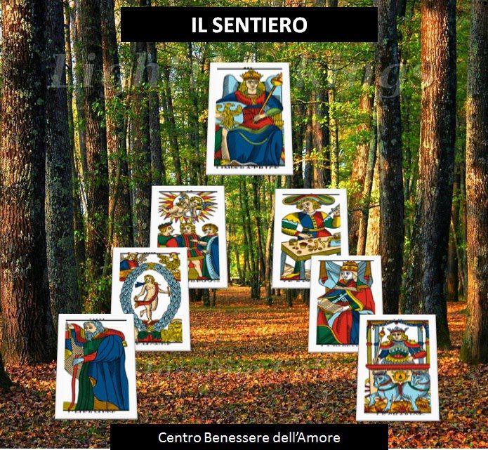 Il SEntiero...schema di lettura dei Tarocchi