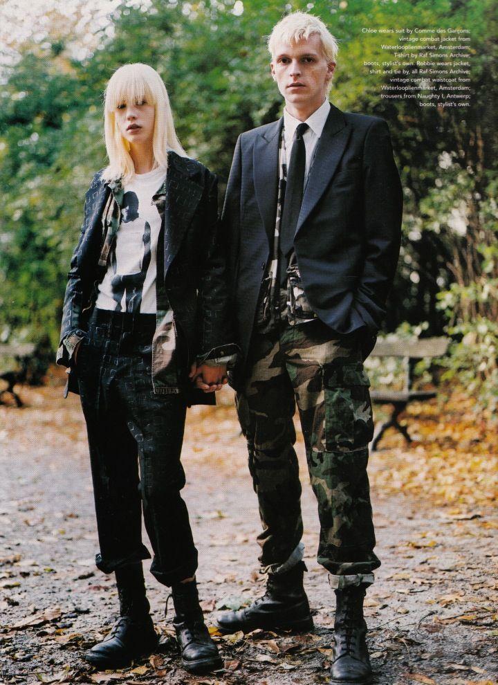 Inspiration Punk Et Militaire Comme Des Garcons Raf Simons Gucci