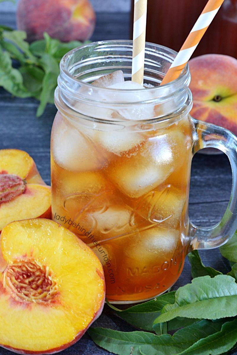 Sugar Free Peach Sweet Tea