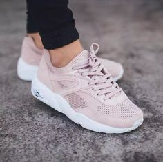 puma trinomic rose poudré