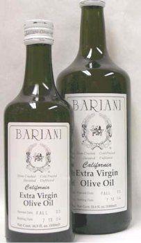 Bariani California Olive Oil - 1000 ml (33.8fl.oz.) - http://goodvibeorganics.com/bariani-california-olive-oil-1000-ml-33-8fl-oz/