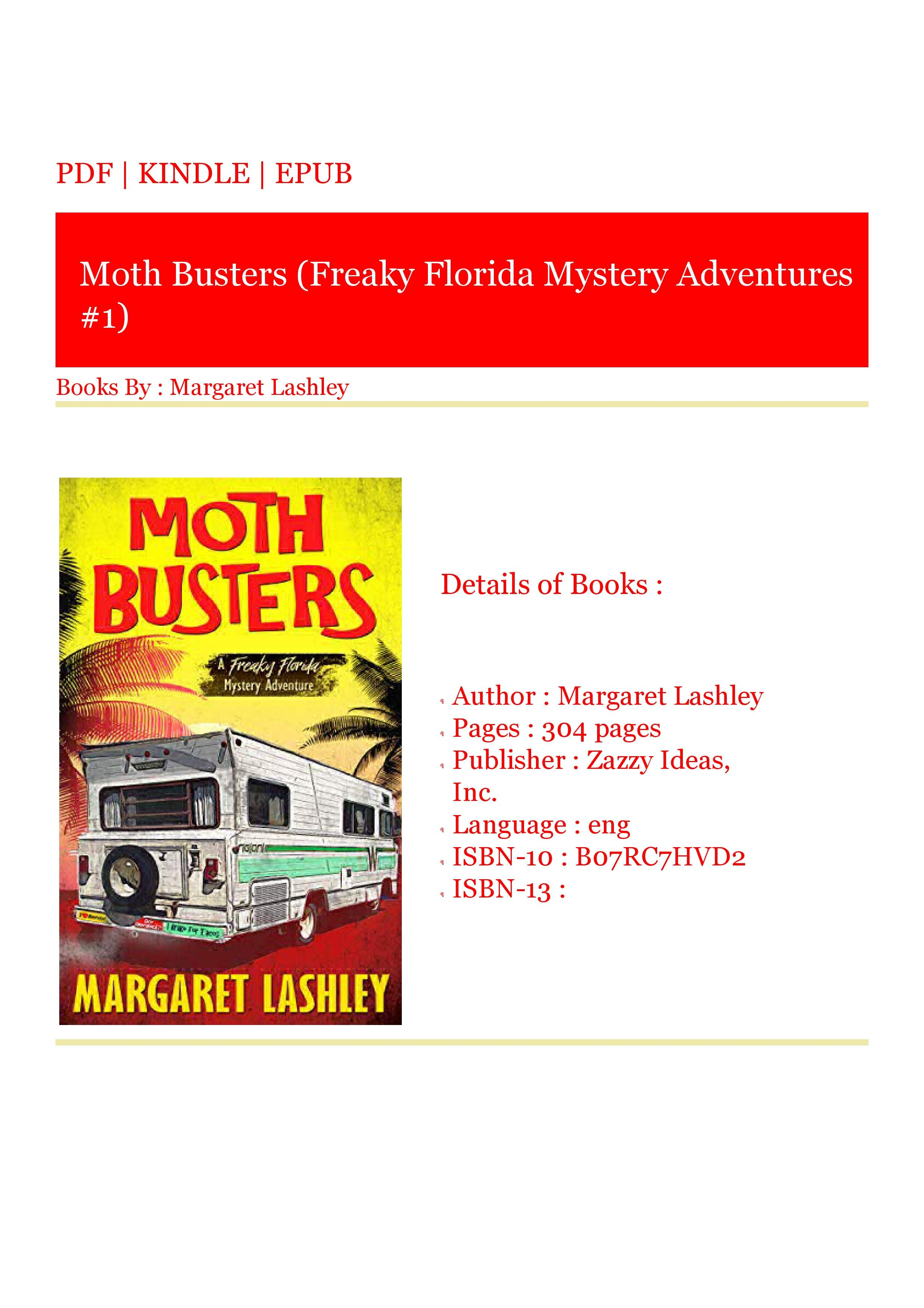 ***Start Reading Now Moth Busters (Freaky Florida Mystery