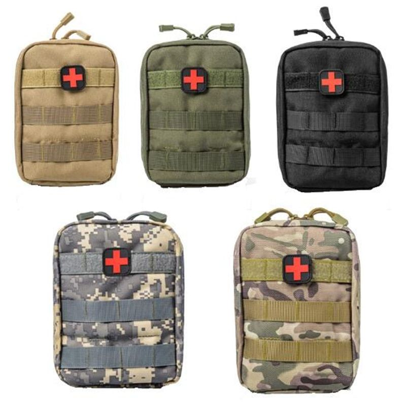 600D Tactical Molle First Aid Bag Medical Pouch Outdoor Travel Emergency Case