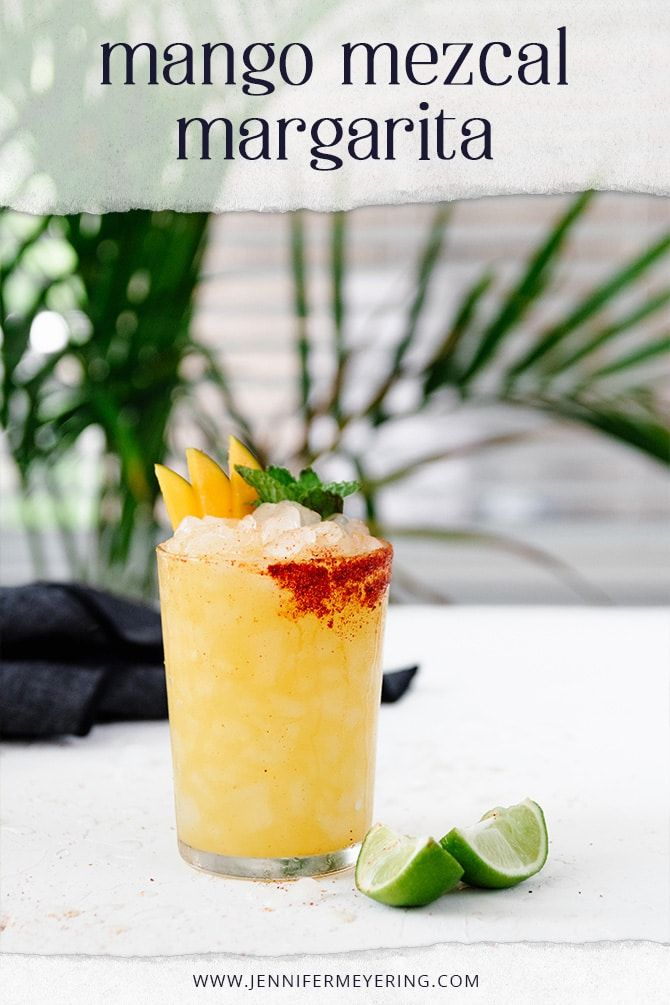Photo of Mango Mezcal Margarita – Jennifer Meyering