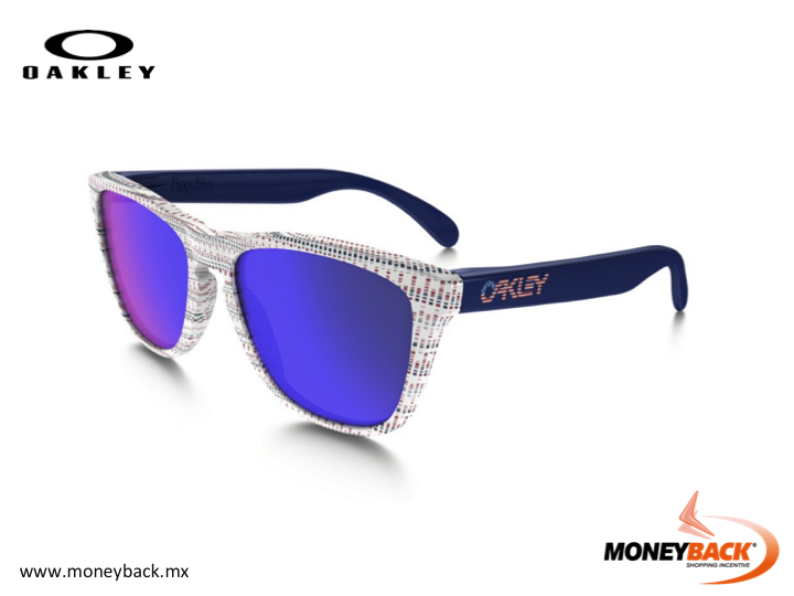 MONEYBACK MEXICO. Some decades ago Oakley created one-of-a-kind sunglasses called Frogskins. Now Oakley has resurrected the original pop tooling from the '80s giving you a chance to own a piece of history. Shop Oakley in Mexico and save taxes with Moneyback! #moneyback www.moneyback.mx