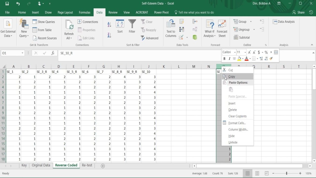 Reverse Scoring And Creating Composite Scores Scores Composition Reverse [ 720 x 1280 Pixel ]