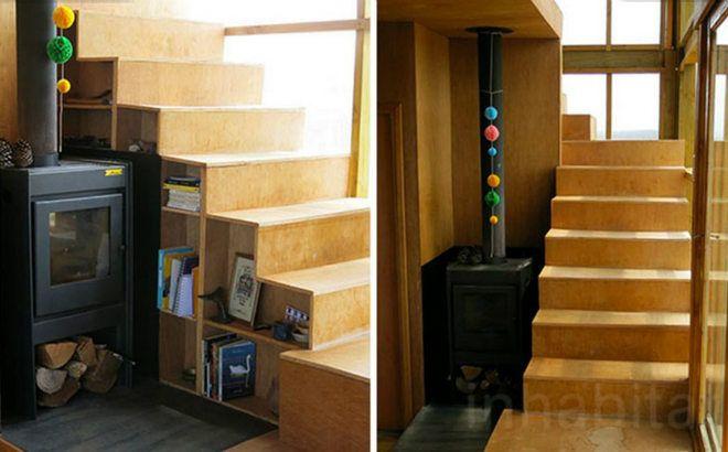 Escalera casa ecoamigable deescandalo ide s for Escaleras interiores de casas pequenas