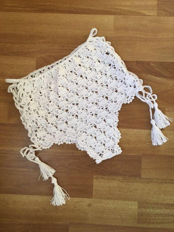 Shorts de encaje de ganchillo por byrosali en Etsy | Love Crochet ...