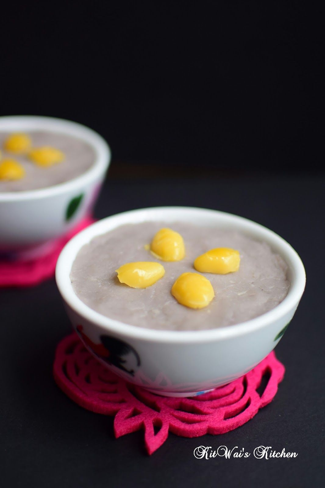 潮洲银杏芋泥 Teochew Yam Paste with Gingko Nuts Malaysian