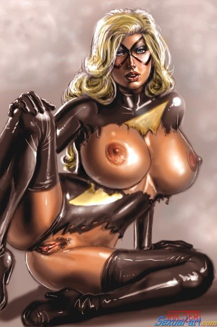 Porn ms rogue marvel and