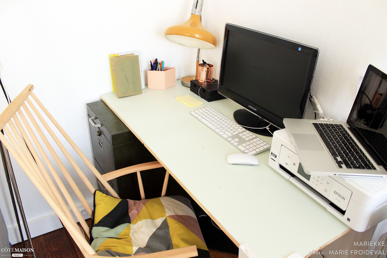 Bureau : ambiance scandinave le coin bureau se fait déco ! pinterest