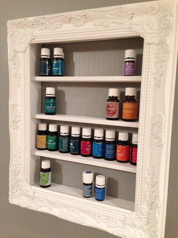 white decorative ornate vintage open frame essential oil rack shelf rh pinterest com