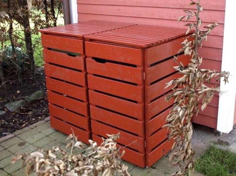 Mulltonnenbox Mulltonnenverkleidung Mulltonnenbox Mulltonnenbox Holz Mulltonnenverkleidung Holz