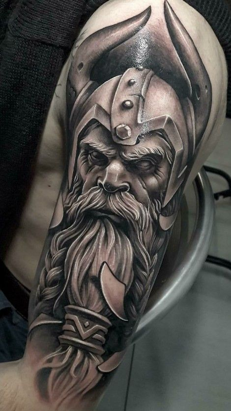 Tattoo viking | Viking tattoos for men, Warrior tattoos ...
