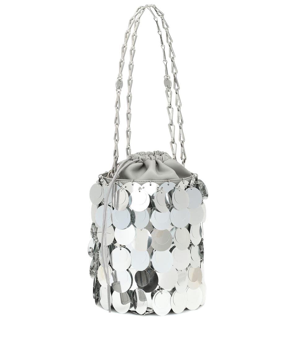 Sparkle 1969 bucket bag in silver #Sponsored #Sparkle, #bucket, #silver